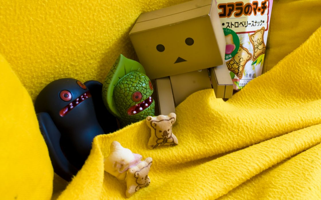 Monsters cookies toys (children) cracker danboard sleeping wallpaper