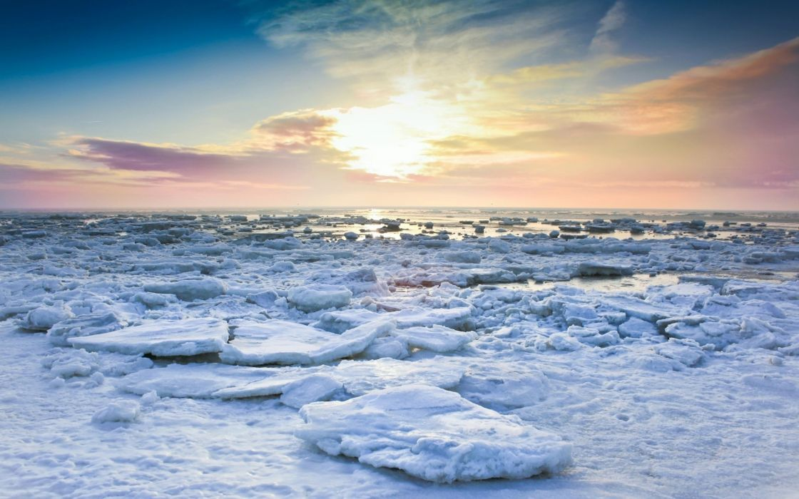 Ice norway wallpaper