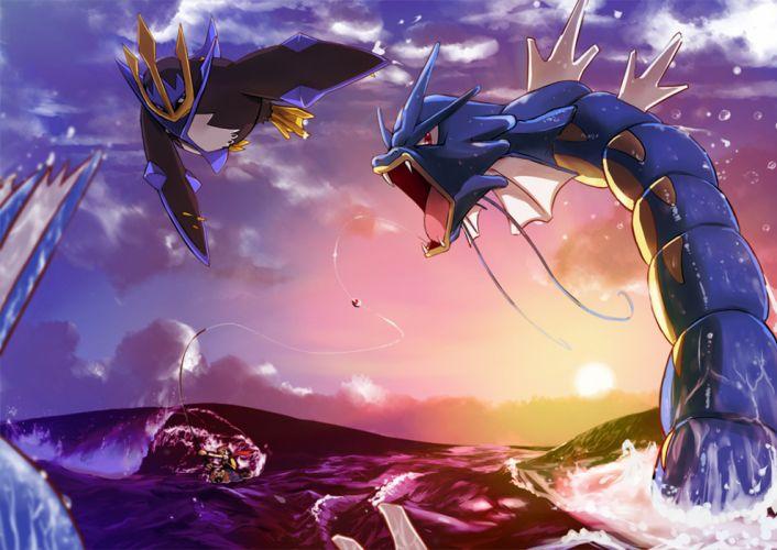Pokemon gyarados wallpaper