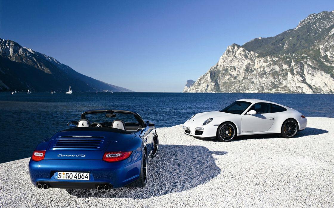 Cars porsche 911 carrera gts wallpaper