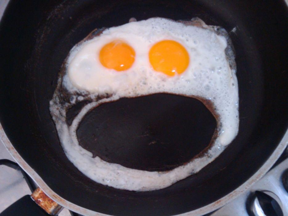 Eggs smiley fried eggs wallpaper