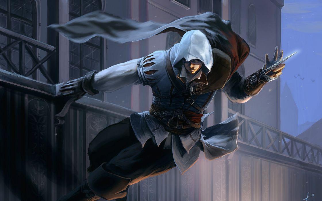 Video games assassins creed wallpaper