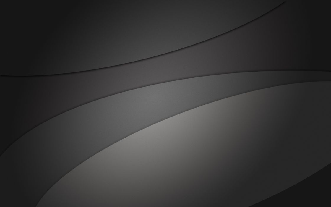 Minimalistic gray curves wallpaper
