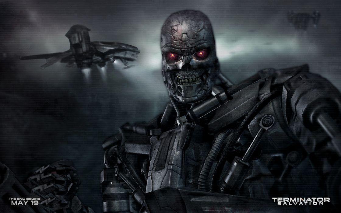 Robot movies mecha terminator salvation wallpaper