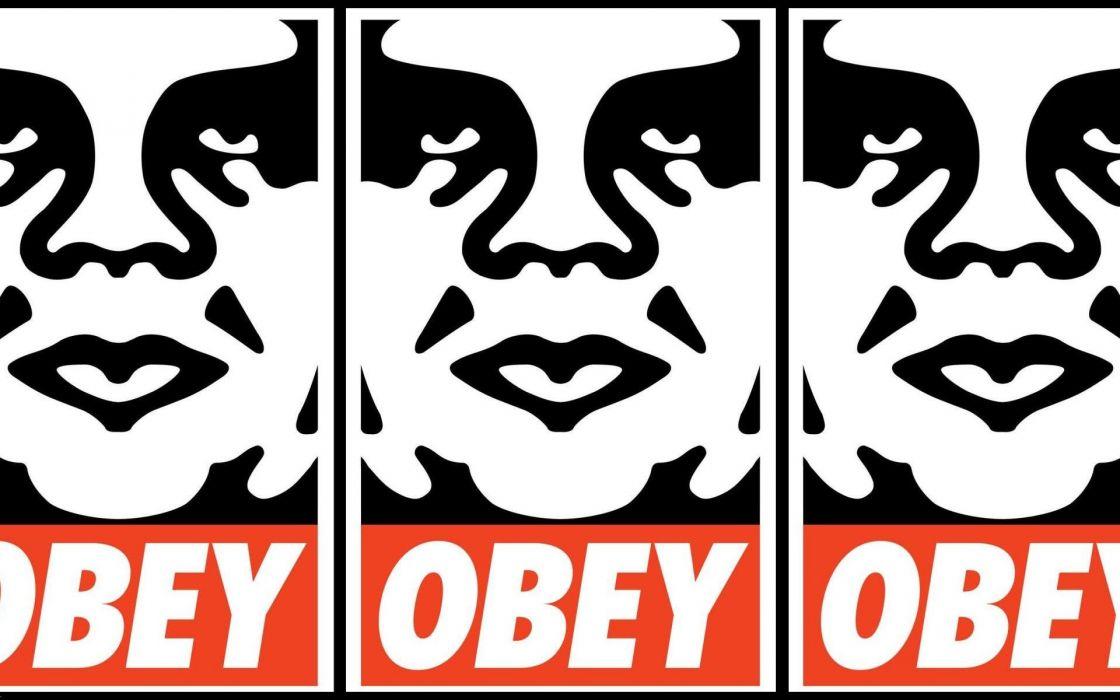 Obey shepard fairey wallpaper
