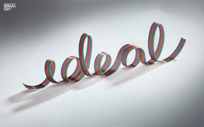 Texts typography ideal wallpaper