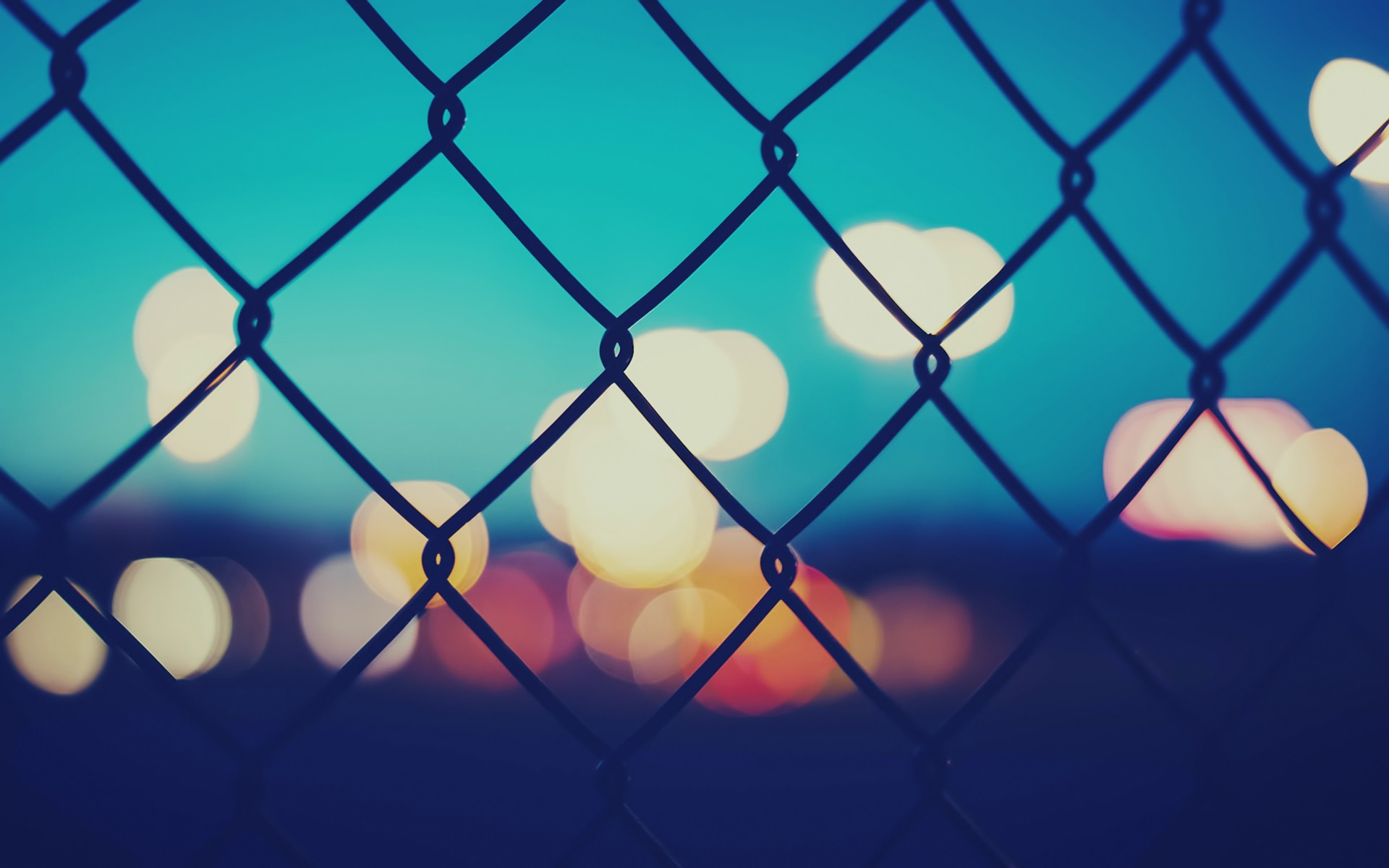 Chain Link Fence Wallpaper: Fences Bokeh Chain Link Fence Wallpaper