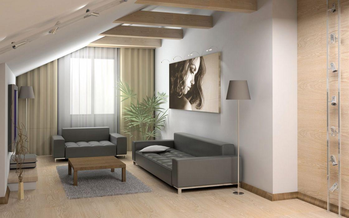 Couch architecture gray interior living room interior designs wallpaper