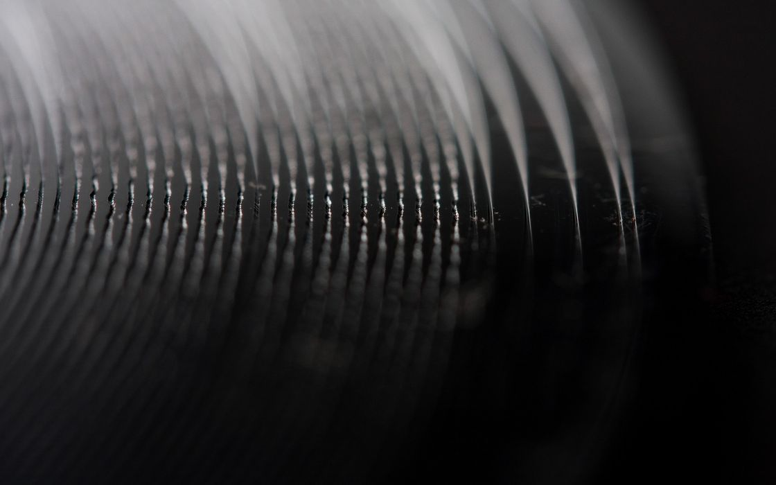 Record vinyl macro wallpaper