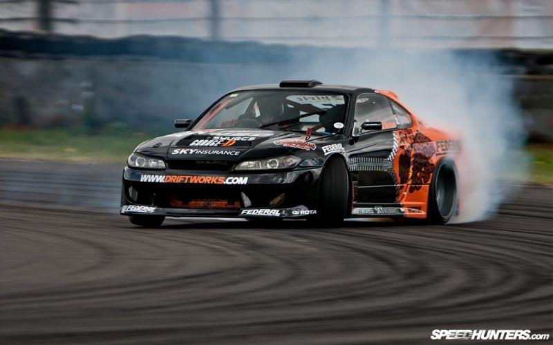 Cars drifting cars racer drifting nissan silvia s15 wallpaper