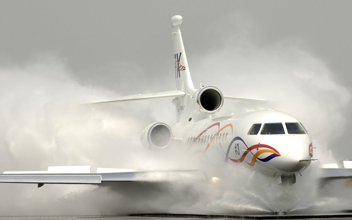 Dassault falcon aircraft wallpaper