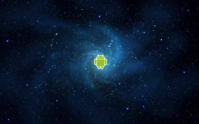 Outer space stars android wallpaper