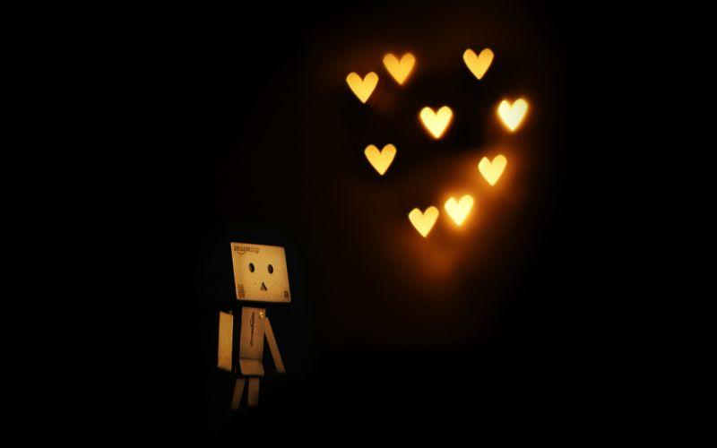 Light love hearts air wallpaper