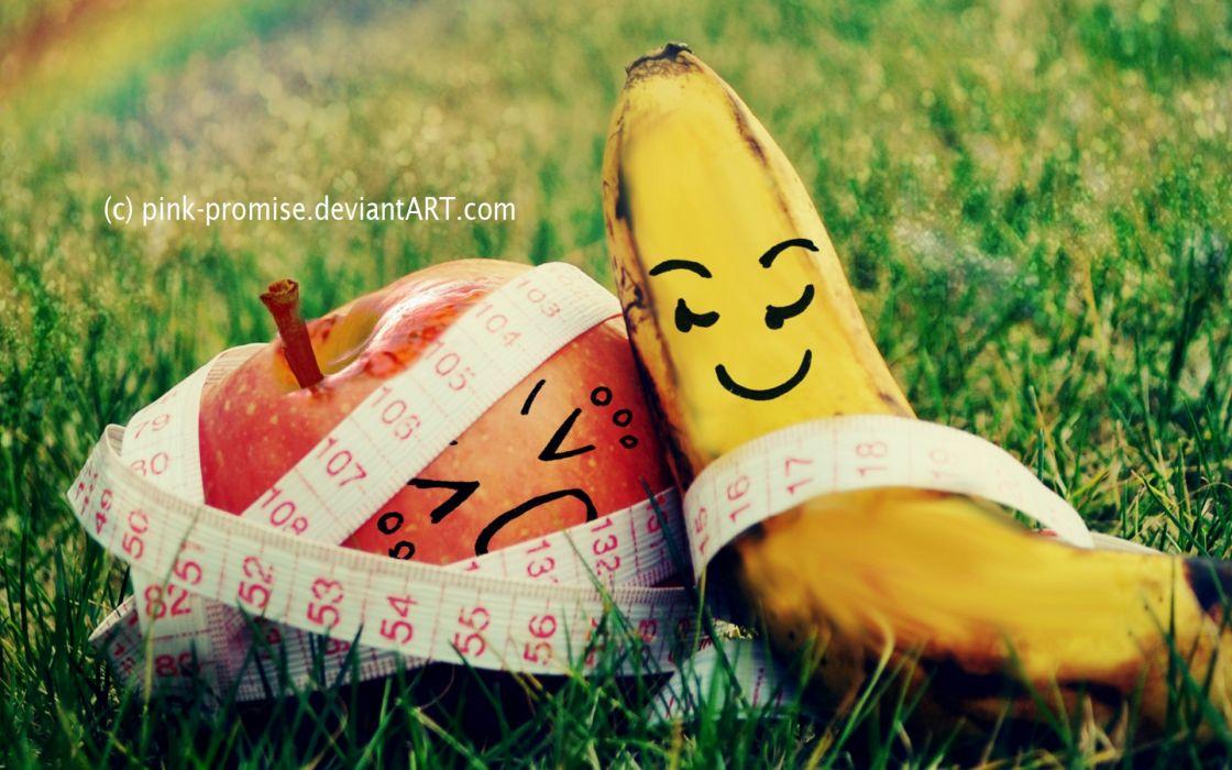 Fruits funny wallpaper