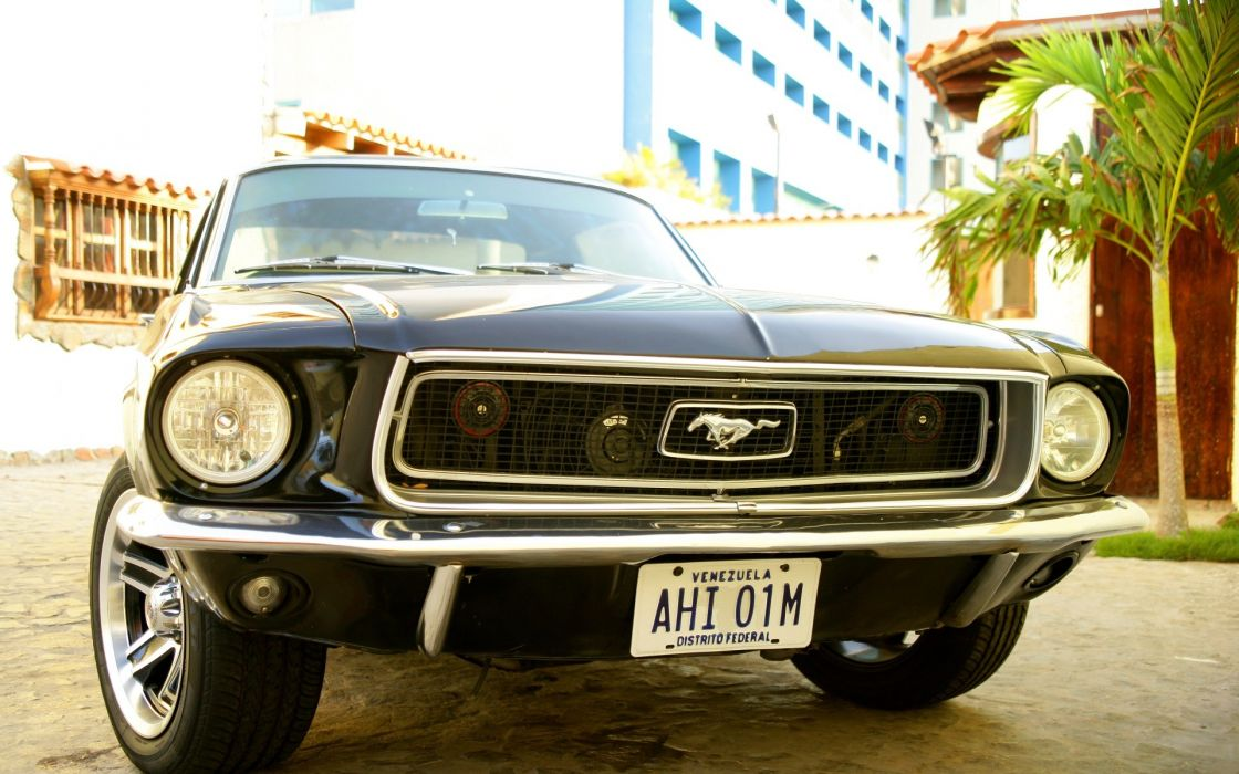 Cars ford mustang black cars muscle car wallpaper