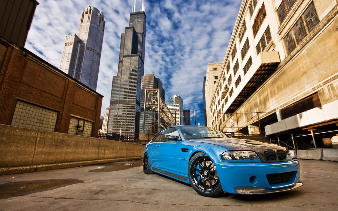 Cityscapes cars tuning bmw m3 wallpaper