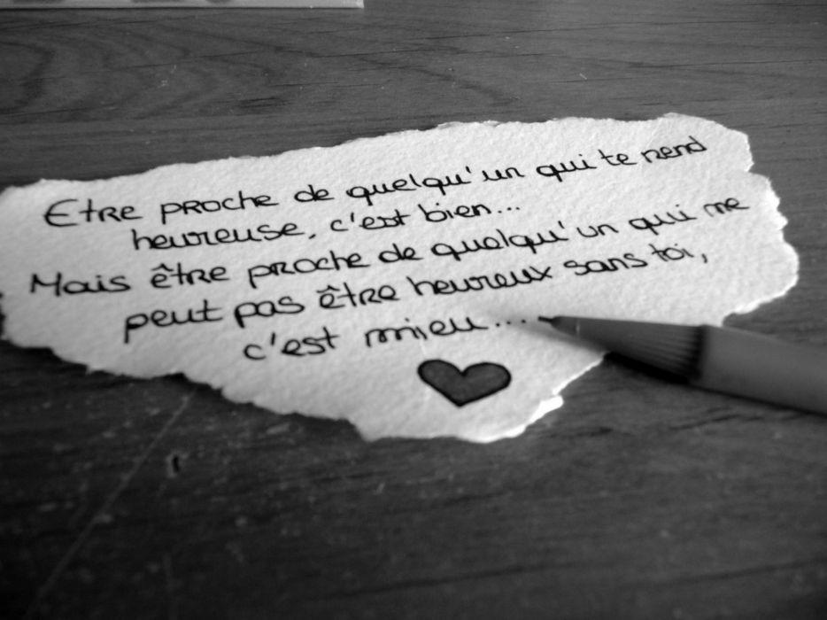 Black and white love quotes friends monochrome hearts friendship wrote wallpaper