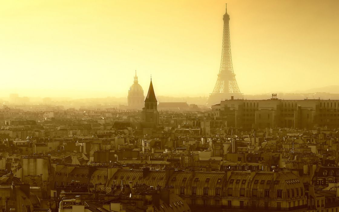 Eiffel tower paris travel city skyline wallpaper