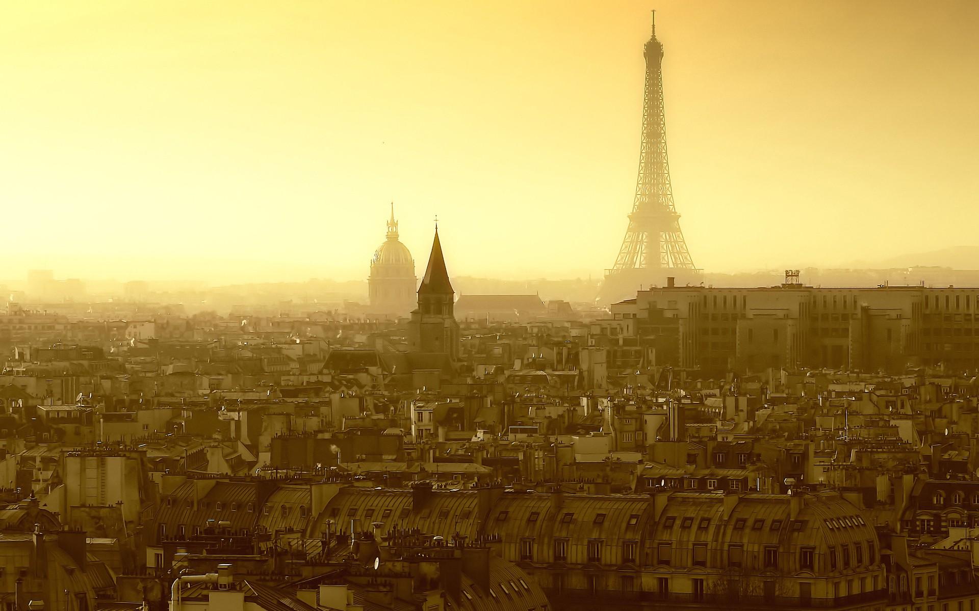 eiffel tower paris travel city skyline wallpaper