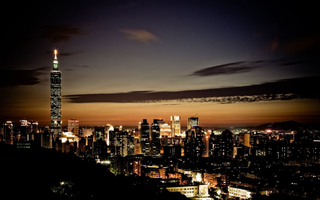 Taipei 101 cities wallpaper