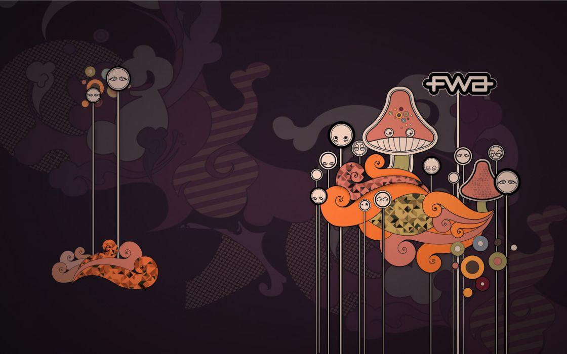 Mushrooms shrooms wallpaper