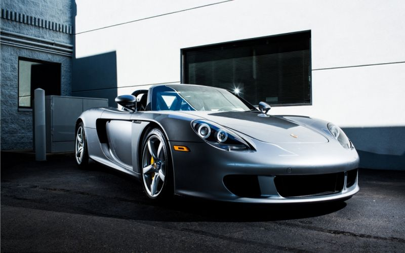 Cars supercars tuning porsche carrera gt silver cars german cars wallpaper