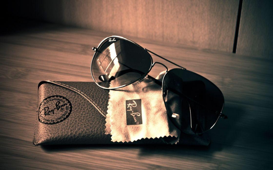 Artistic sunglasses ray ban wallpaper