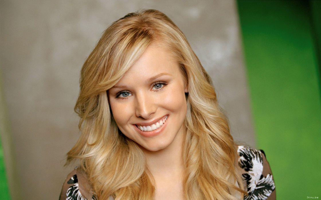 Women kristen bell actress celebrity wallpaper