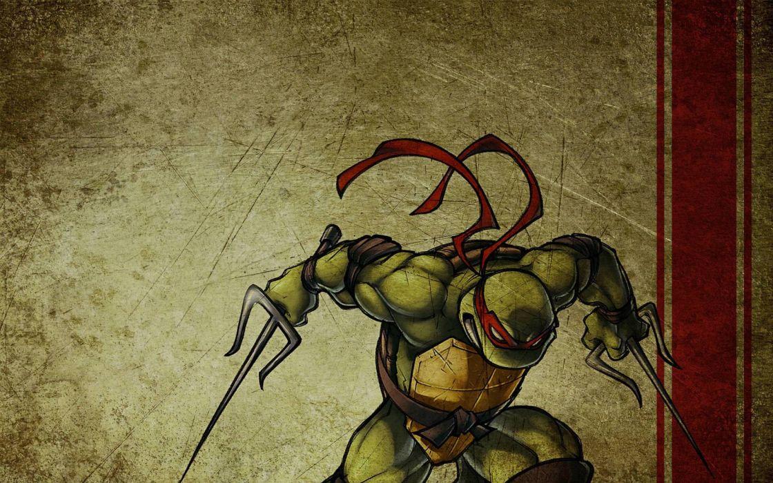 Teenage mutant ninja turtles raphael wallpaper