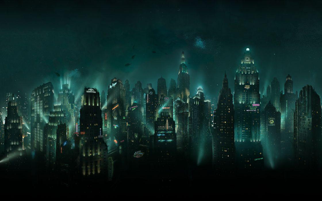 Video games bioshock rapture wallpaper