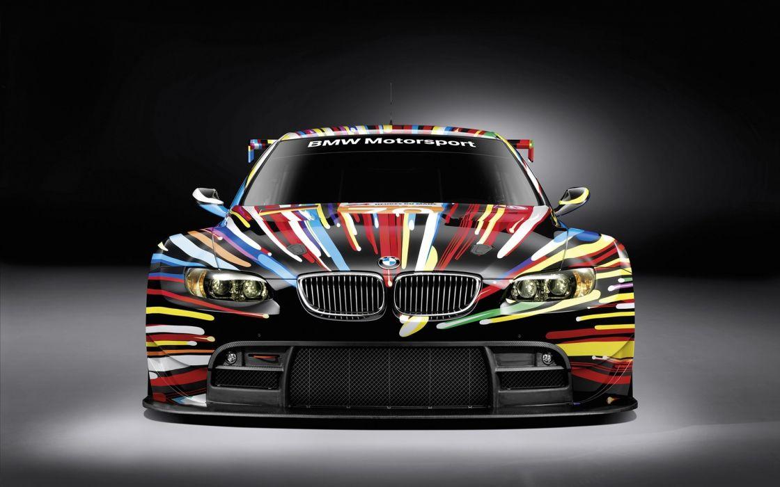 Bmw m3 art car wallpaper