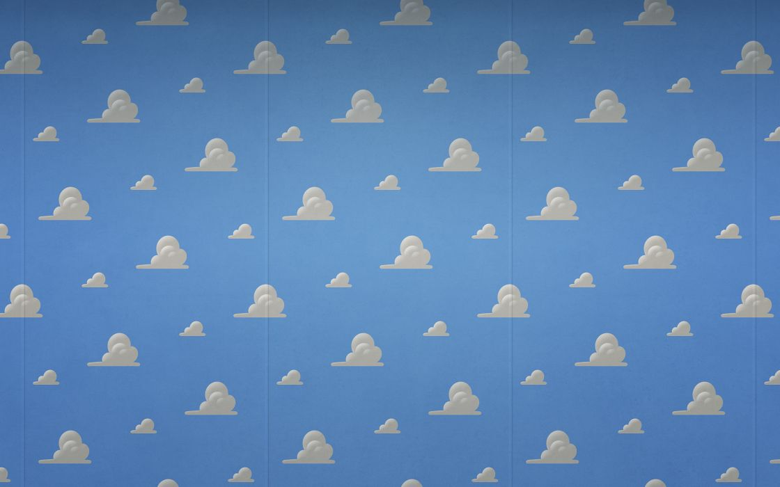 Clouds Toy Story Wallpaper