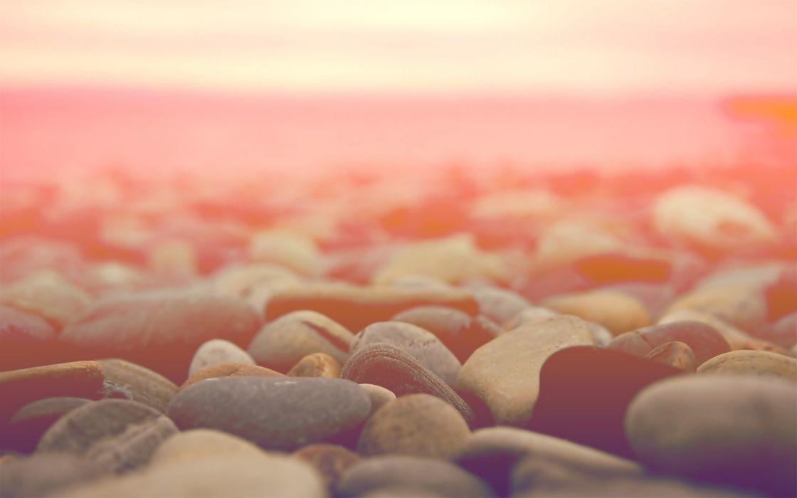 Nature stones macro wallpaper
