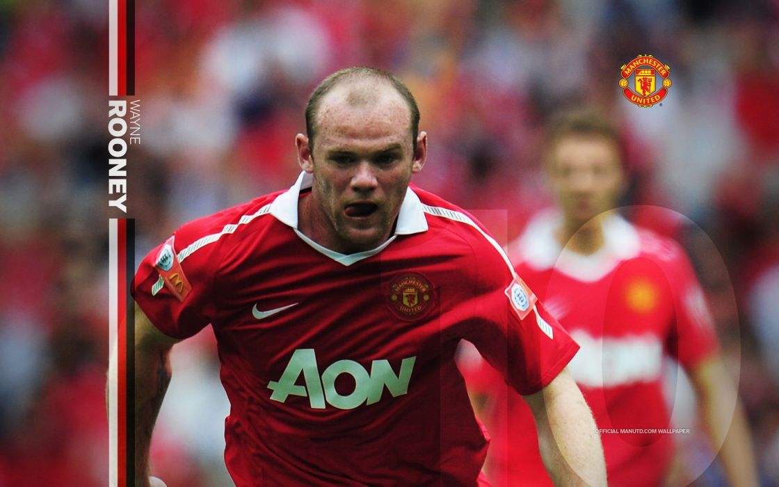 Red team manchester manchester united fc red devils wayne rooney wallpaper