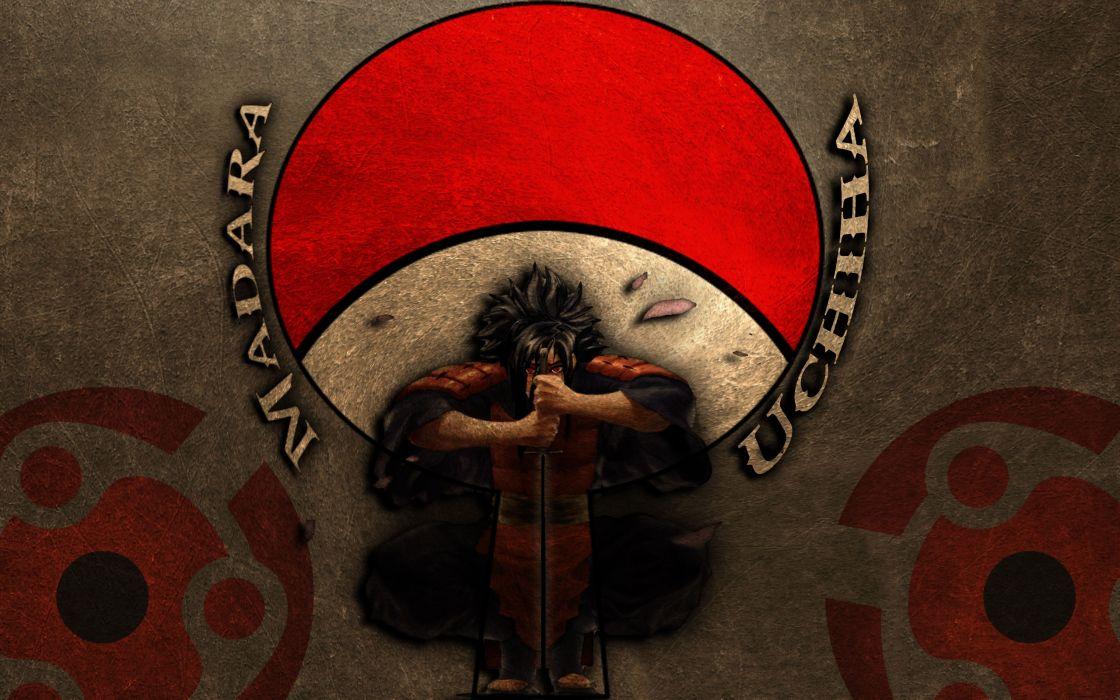 Naruto shippuden sharingan uchiha madara wallpaper