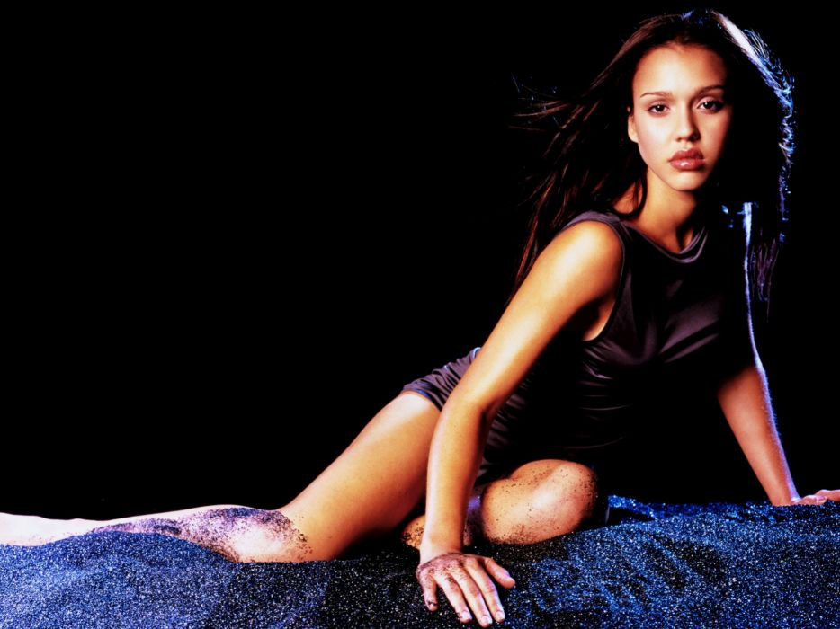 Brunettes women jessica alba actress wallpaper
