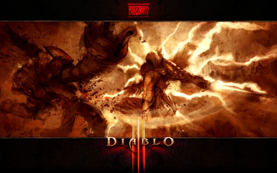 Video games diablo tyrael blizzard entertainment diablo iii games wallpaper