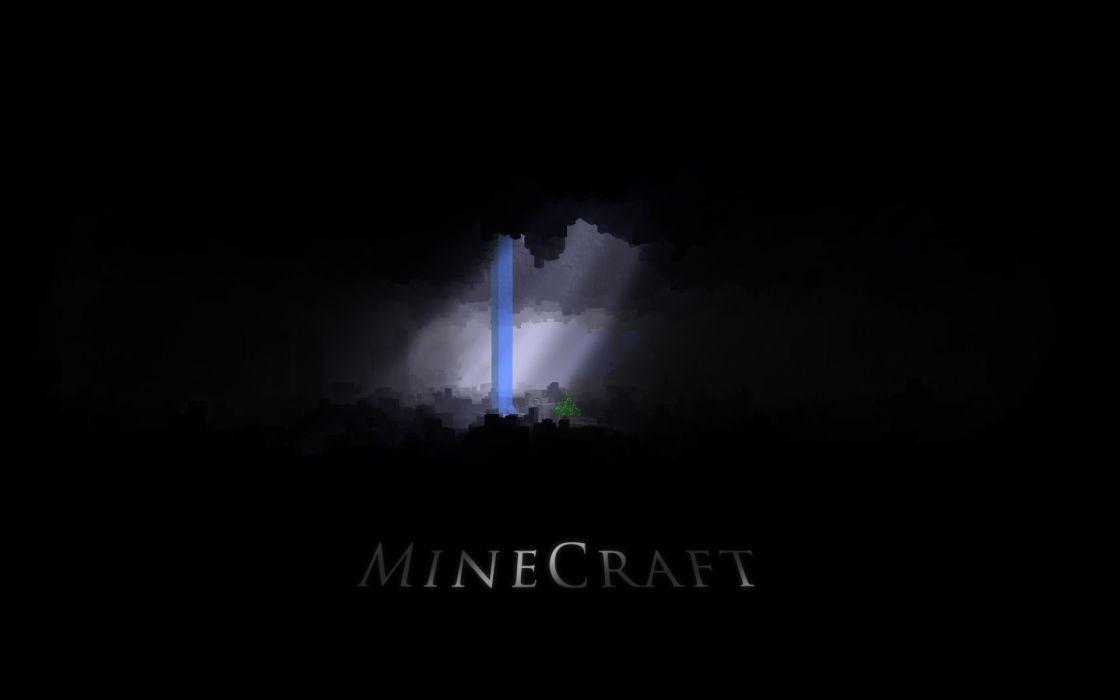 Video games minecraft wallpaper