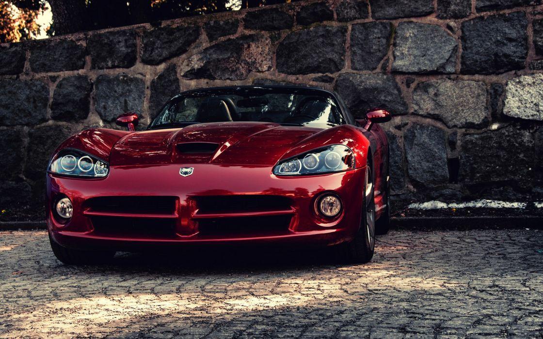 Cars dodge viper sport cars wallpaper