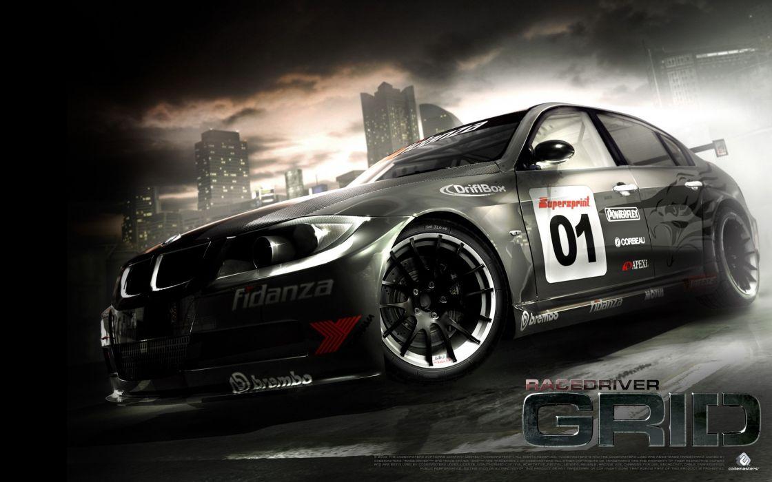 Bmw cars grid wallpaper