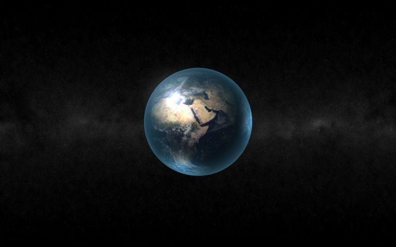Abstract earth wallpaper