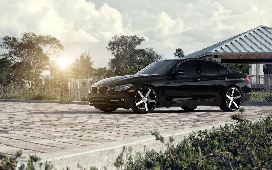 Bmw sun black cars houses bmw 3 series sport cars bmw f30 wallpaper