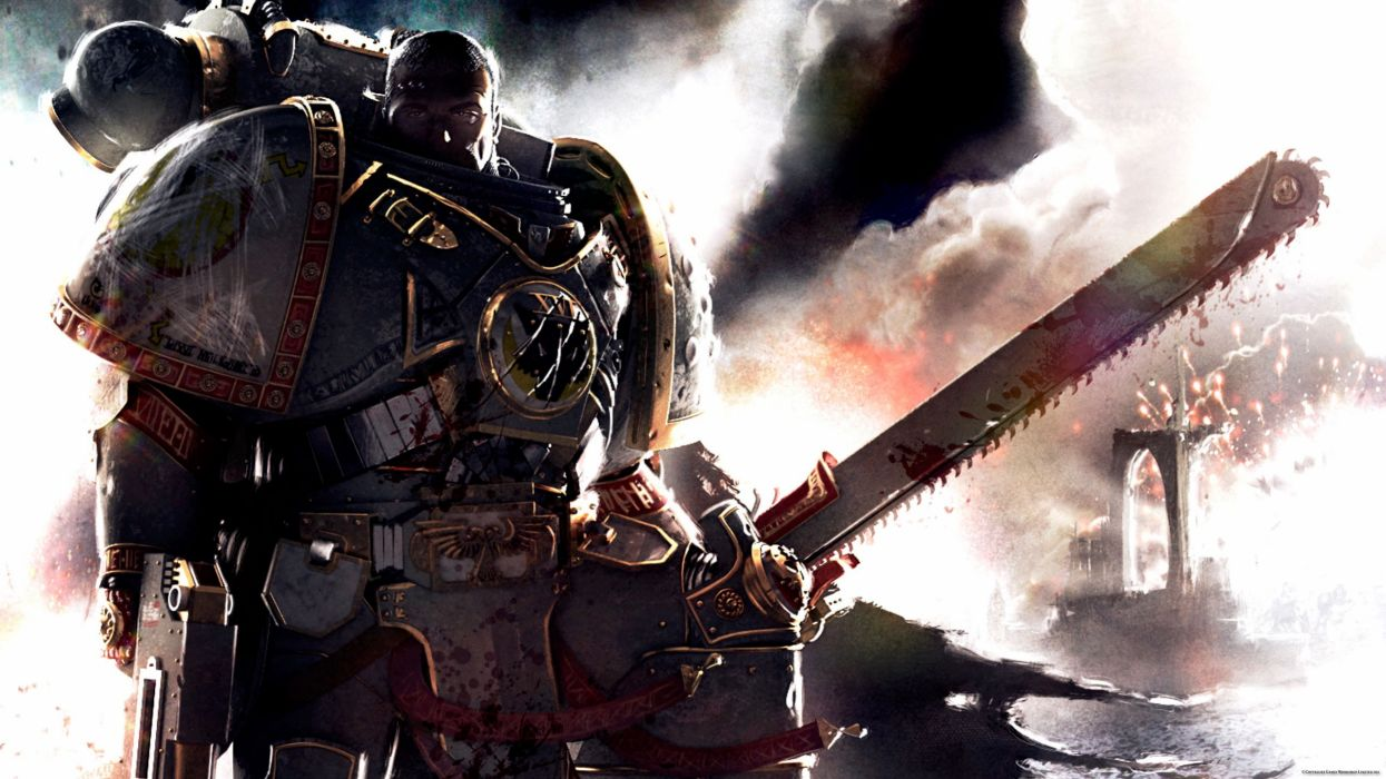 Legion warhammer 40k space marines science fiction wallpaper