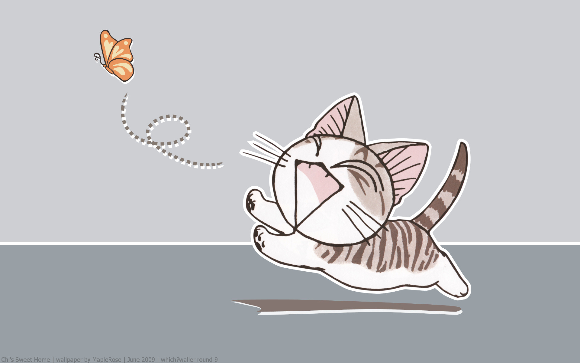 Chi Chi S Sweet Home Cats Drawn Wallpaper 1920x1200