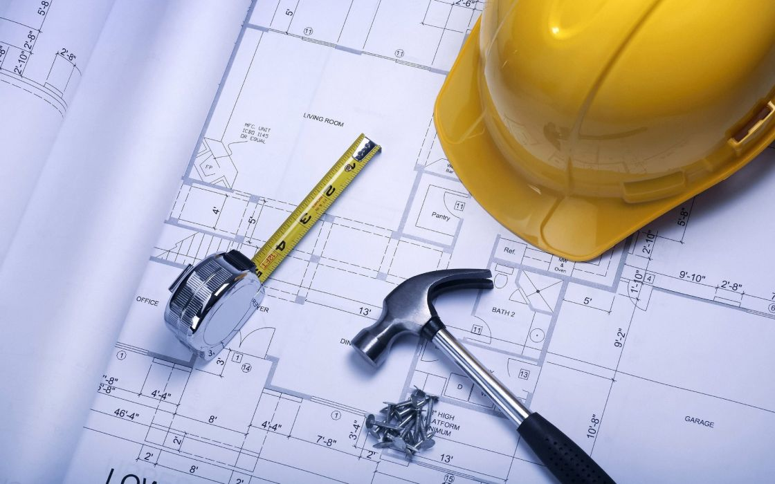 Architecture helmets engineers wallpaper
