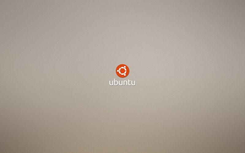 Minimalistic linux ubuntu logos wallpaper