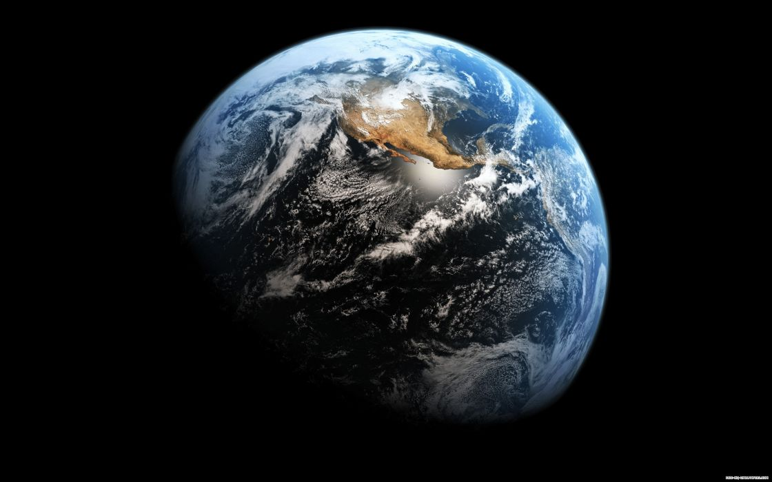 Outer space earth usa orbit wallpaper