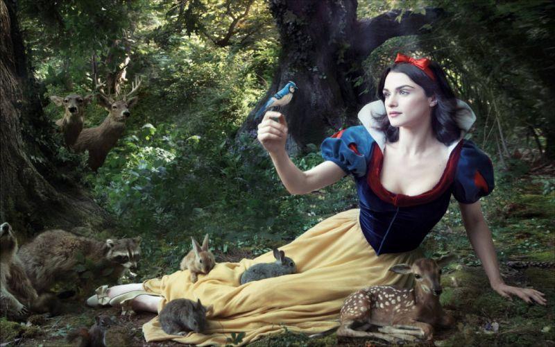 Women rachel weisz snow white wallpaper