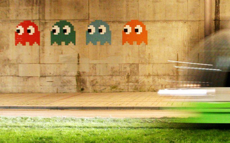 Man video game graffiti wallpaper