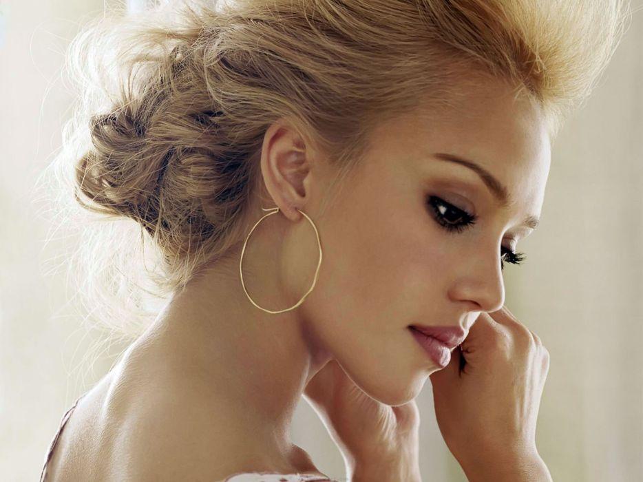 Women american jessica alba actress wallpaper
